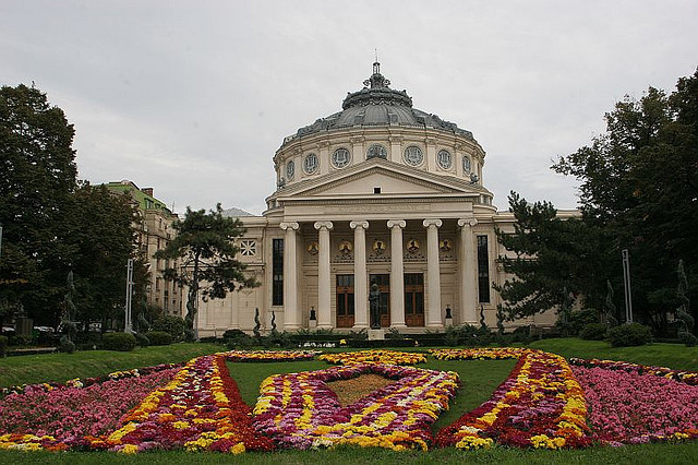 "dryasadingo:"" Romanian Athenaeum on Flickr.""Romanian Atheneum in Bucharest."