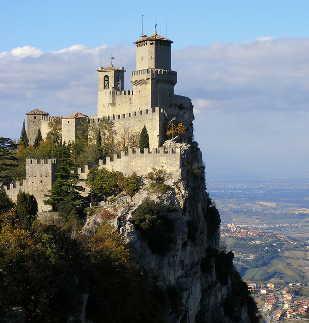 Torre Guaita in the Republic of San Marino