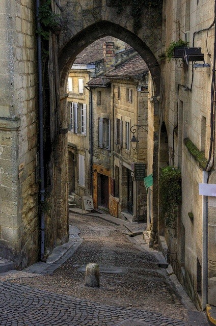 Ancient Village, St. Emilion, France