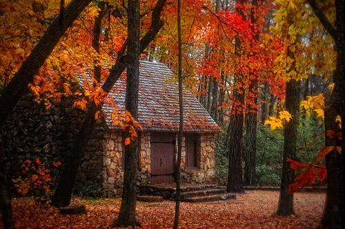 Stone Cottage, Asheville, North Carolina